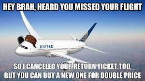 Missing flight