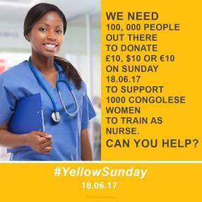 Yellow Sunday nurse training