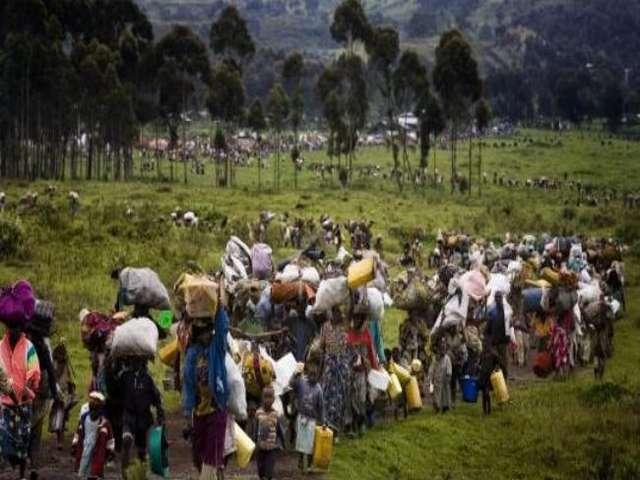A displaced village